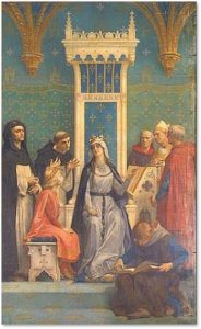 Blanche of Castile, Louis IX, St Louis de France, regent
