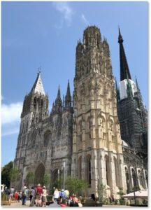 Notre Dame Cathedral Rouen France, west facade