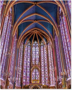 Sainte Chapelle, King Louis IX, St Louis de France, Rayonnant Gothic Architecture