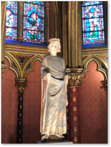 St Louis de France, Sainte Chapelle, Basse Chapelle, Louis IX