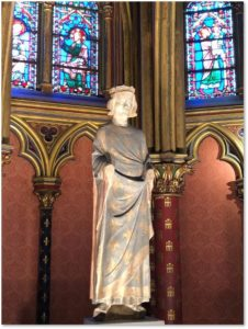 St Louis de France, Basse Chapelle, St. Chapelle, Paris, King Louis IX