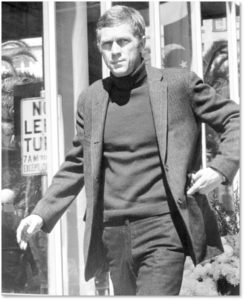 men's fashion, Steve McQueen, fashion icons