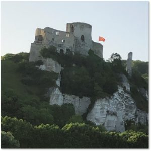 Chateau Gaillard, Viking River Cruise, Richard the Lionheart, Seine River
