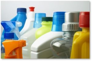 cleaning products, household cleaners, VOCs, indoor air pollution