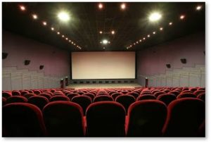 Empty Movie Theater, Regal Cinema, Cineworld