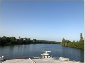 Seine River, Viking River Cruise, Viking Rinda, morning, virtual Viking vacation
