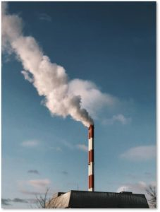 smokestacks, VOCs, air pollution, volatile organic compounds