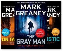The Gray Man, Mark Greaney