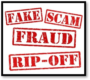 Internet scams, fake, fraud, rip-off