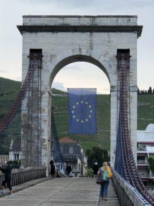 Marc Seguin, suspension bridge, Tournon sur Rhone, France