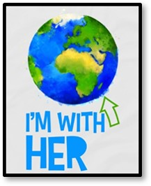 I'm with her, Greta Thunberg, climate change, environment, activist