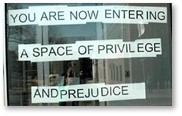 A space of privilege and prejudice, un-equal justice