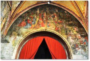 frescoes, Chapel of Penitents, St. Juilien, Tournon, Thomas Arnier
