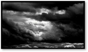 sunset, cloudy sky, grief, sadness, death
