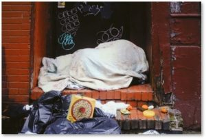 homeless, homelessness, sleeping on street
