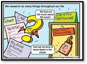 Healthcare proxy, Good Death Decisions, Living Will, Power of Attorney,