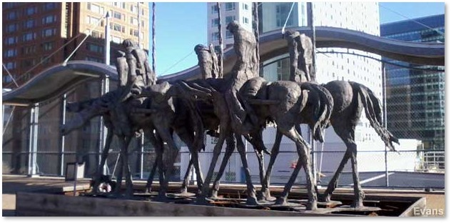 The Partisans, Boston, Seaport District, Andrzej Pitynski