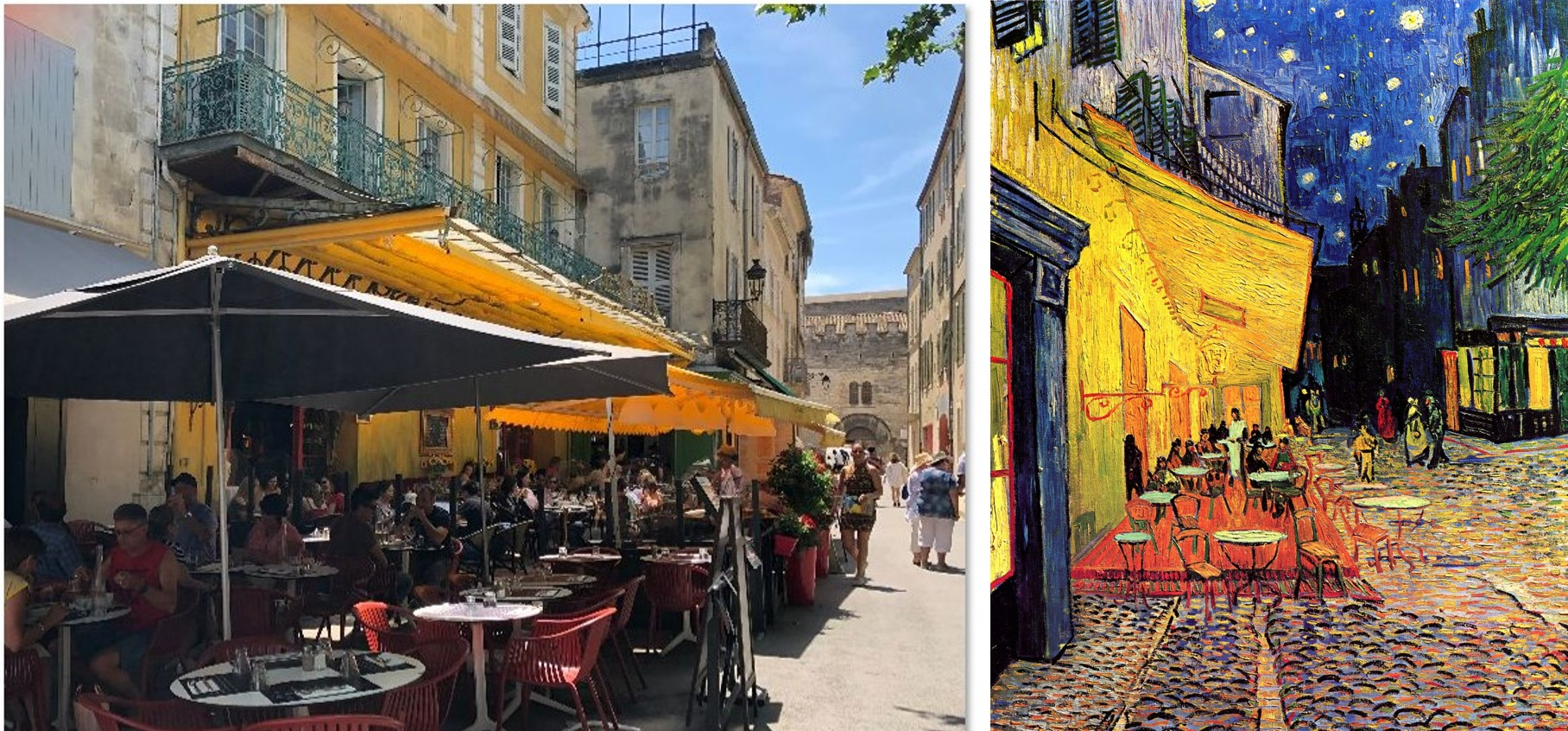 The Yellow Cafe, Arles, Van Gogh,