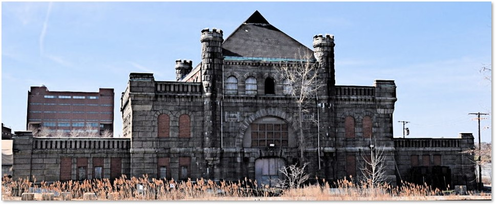 Calf Pasture Pumping Station, George Albert Clough, Columbia Point, Dorchester