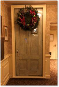 Dickens Door, Omni Parker House Hotel, Charles Dickens, A Christmas Carol