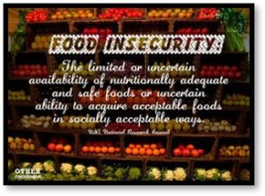 Food insecurity, hunger in America