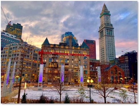 Flour and Grain Exchange, Rose Kennedy Greenway