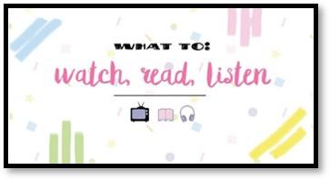 Watch Read Listen, confetti