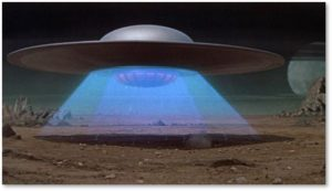 alien spaceship, flying saucer, 7 science fiction movies 1H 2020