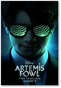 Artemis Fowl, Eoin Colfer, science fiction movie
