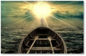 boat going into the light, life after death, afterlife, NDE, near death experience