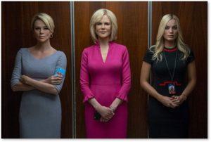 Charlize Theron, Nicole Kidman, Margot Robbie, Bombshell, Megyn Kelly, Gretchen Carlson