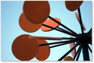Helion, orange lollipops, Robert Amory,