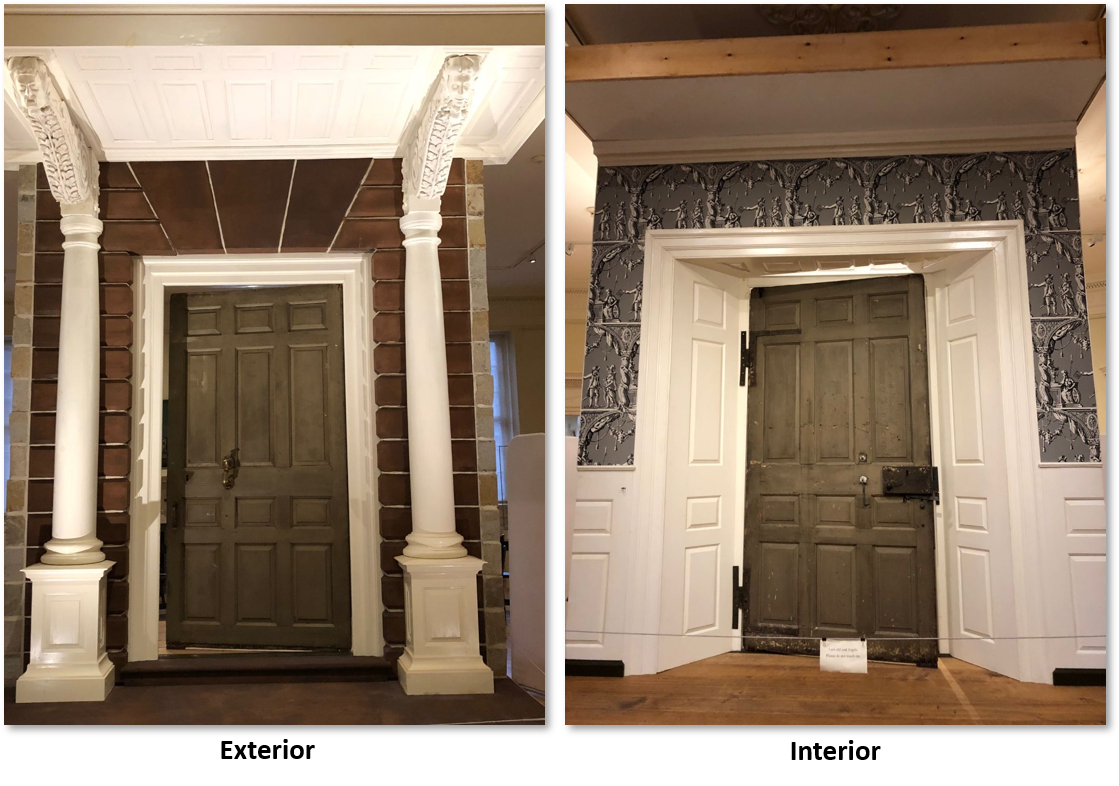 John Hancock Mansion doors, Old State House Museum, North Bennet Street School