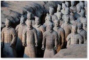terra cotta army, Emperor Qin, archaeology,