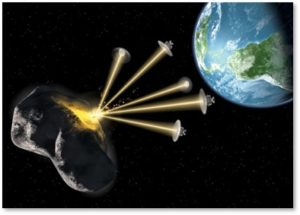 asteroid deflection system, The Planetary Society, laser beams