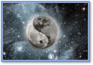 Balance in the Universe, yin yang