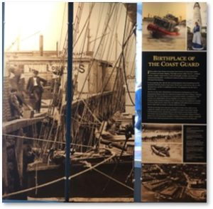 Battery Wharf, Maritime Museum, Pocket Museum, Coast Guard