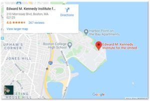 EMK Institute, Edward M Kennedy Institute for the US Senate, Columbia Point, Dorchester