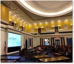EMK Institute, Senate Chamber, Edward M Kennedy
