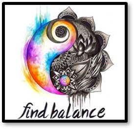 Find Balance, yin yang