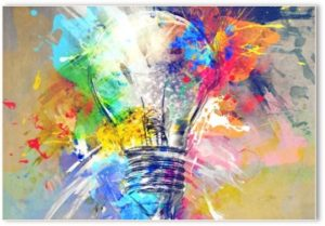 creativity, ideas, paint