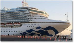 Diamond Princess, cruise ship, quarantine, Covid-19, coronavirus