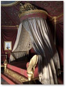Empress Josephine's Bed, Malmaison, Josephine Bonaparte