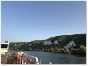 Seine River, Viking Rinda, limestone cliffs