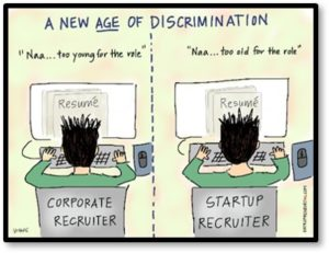New Age of Discrimination, Too young, Too old