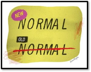 Old Normal, New Normal, Covid-19, Pandemic