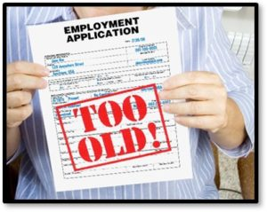 Too Old, Unemployment Application, ageism, age discrimination