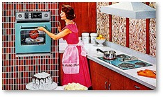 Fifties Kitchen, In the Kitchen with Suze