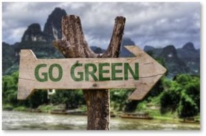Go Green, environmental guilt