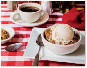 Indian Pudding, Durgin-Park Restaurant, molasses